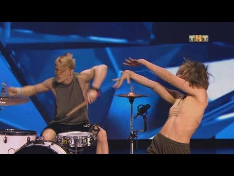 DRUMS & DANCE в Танцах на ТНТ | Trif and Jane on the TV