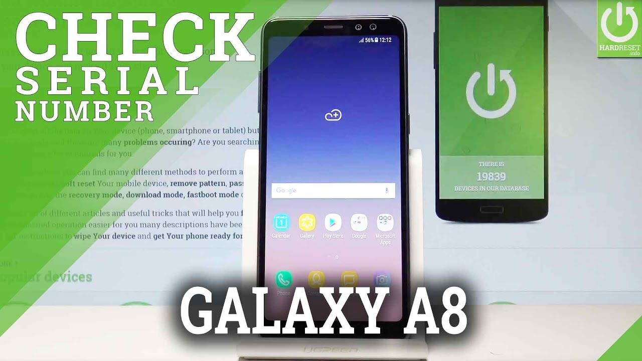 How to Check IMEI Number in SAMSUNG Galaxy J6 - HardReset info