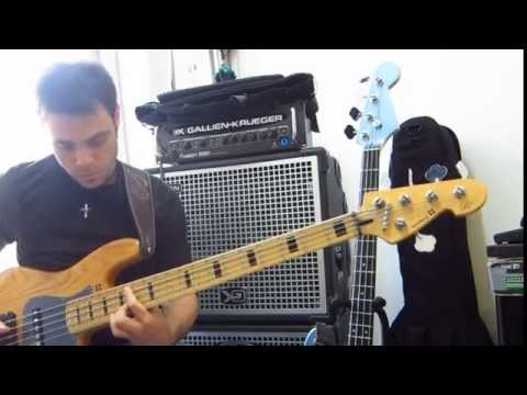 Tiziano TAz Militello - Sandberg TM5 & Gallien Krueger Fusion 550 + NEO 210-212 - Bass improvisation