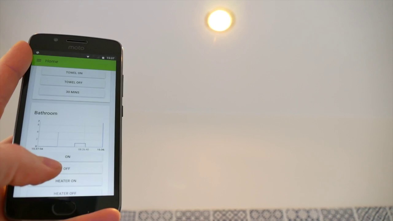 HOME AUTOMATION with a Raspberry Pi and MQTT, Part 1