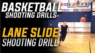 Lane Slide Shooting: Basketball Shooting Drills