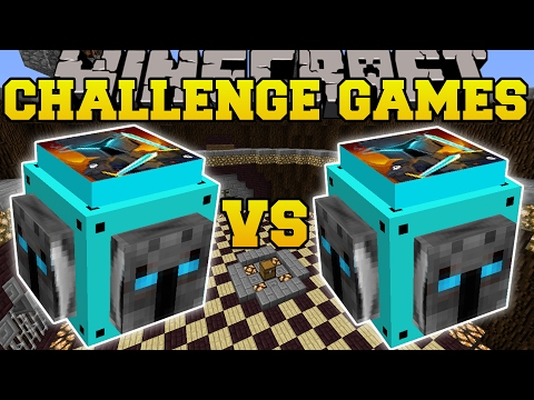 Thumbnail: Minecraft: POPULARMMOS VS POPULARMMOS CHALLENGE GAMES - Lucky Block Mod - Modded Mini-Game