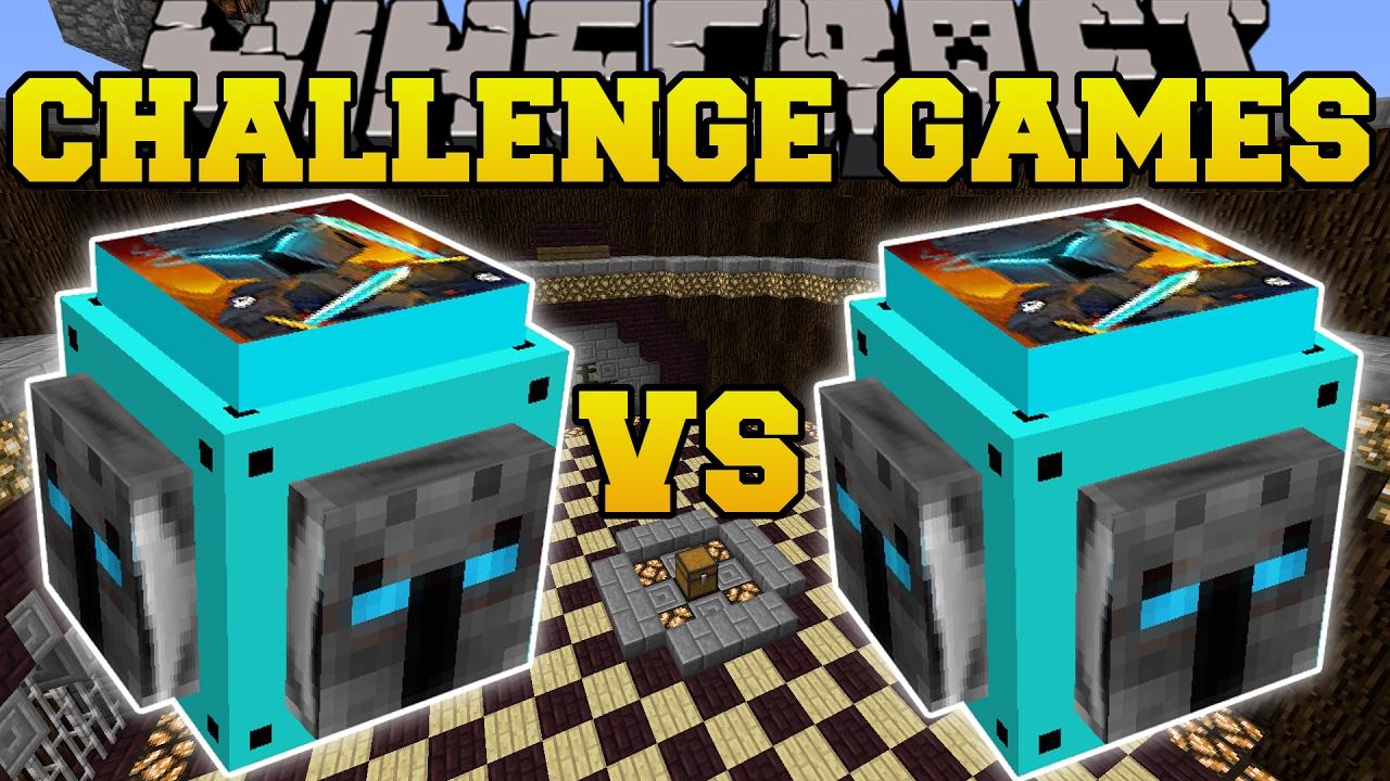 Minecraft Popularmmos Vs Popularmmos Challenge Games
