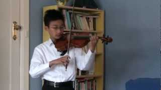 FM Veracini Sonata in E Minor 1st, 2nd, 3rd and 4th Movt (Violin) - Brendan Chong