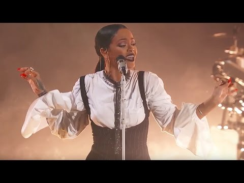 Rihanna Love On the Brain   at Global Citizen Festival 2016