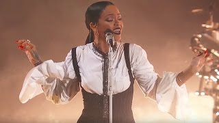 Download Rihanna Love On the Brain | Live at Global Citizen Festival 2016 Mp3 and Videos