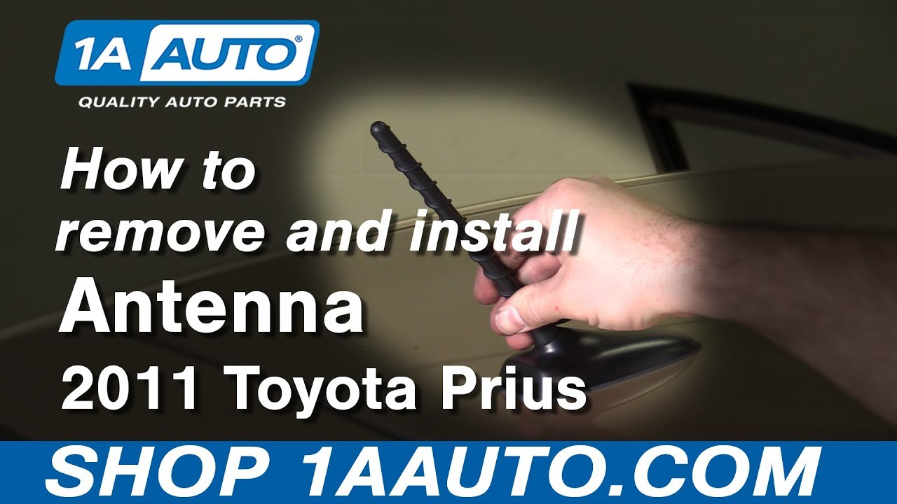 How To Remove 10 15 Toyota Prius Antenna