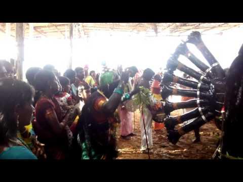 Mutharamman kali attam sathiyanagar 2015