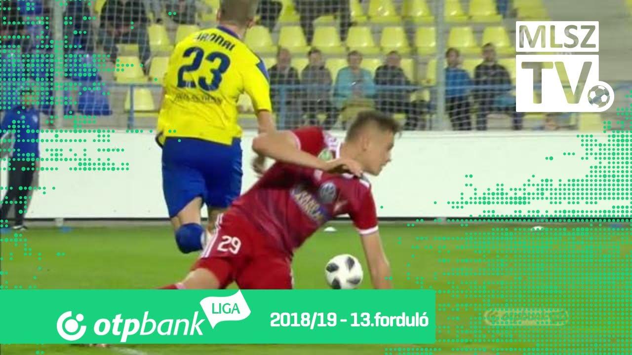 Molnár Gábor gólja a Mezőkövesd Zsóry FC - DVSC mérkőzésen