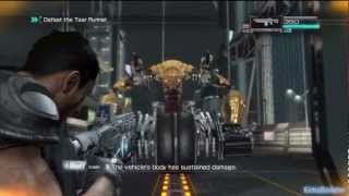 Binary Domain Chapter 4 Boss Tsar Runner Gameplay HD (Xbox360, PS3)