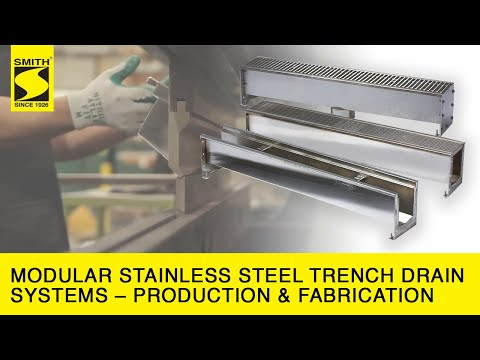 Modular Stainless Steel Trench Drain Systems – Production & Fabrication HD