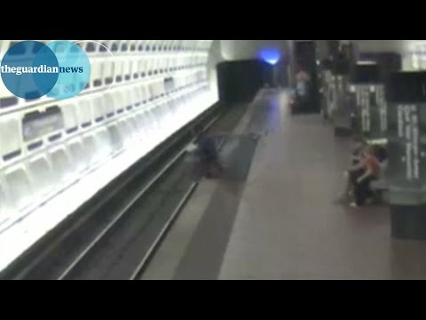 Wheelchair user falls onto Washington subway tracks and is saved by commuters