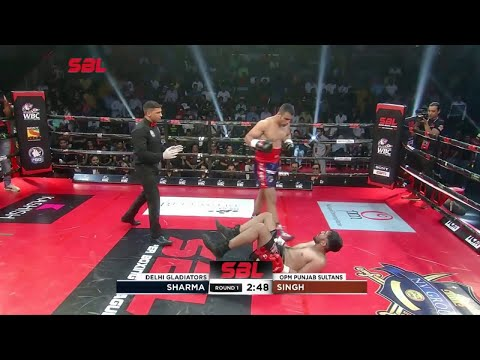 Incredible offence in ( Peek a boo style ) Pitbull Punishing his opponents
