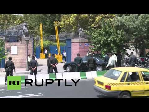 Iran: British embassy reopens in Tehran after 4-yr closure