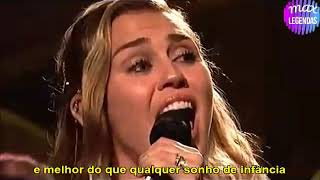 Miley Cyrus - I Would Die For You (Tradução) (Legendado) (Ao Vivo)