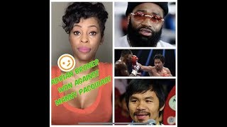 Adrian BRONER got BEAT DOWN by Manny PACQUIAO!