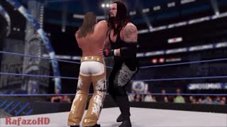 WWE 2K16 [SIMULATION] - Shawn Michaels vs The Undertaker - WrestleMania 25 Highlights [HD]