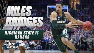 Michigan State vs. Kansas: Miles Bridges drops 22 points