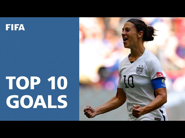TOP 10 GOALS: FIFA Womens World Cup Canada 2015 [OFFICIAL]