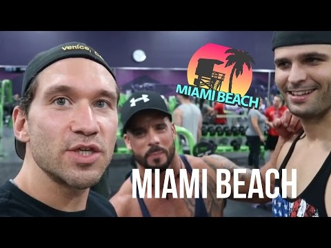 A DAY IN THE LIFE (Miami Beach) HIIT in pista, Workout con i Cubani, VegFest FORT LAUDERDALE