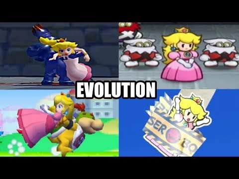Evolution Of Peach Getting Kidnapped By Bowser & More In The Super Mario Series (1988-2016)