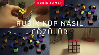 3x3 Rubik Küp Çözümü %100 öğrenme garantili