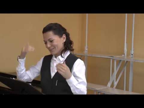 Уроки с младшим хором видео