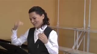 Методы и секреты работы с детьми. Урок хора 1 класс. Преподаватель Лилия Гараева.