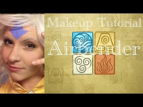 Airbender Makeup Tutorial