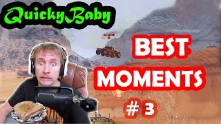 QuickyBaby | Wheel tank | Best moments | #3