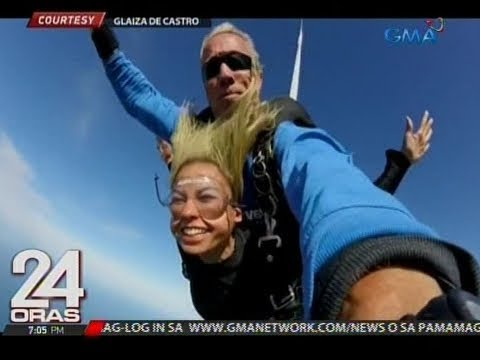 Glaiza de Castro, itinuturing na unforgettable experience ang pag-skydive sa Australia