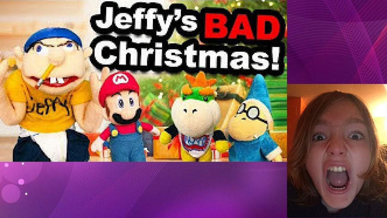 Jeffys Bad Christmas.Sml Movie Jeffy S Bad Christmas Reaction Part 2