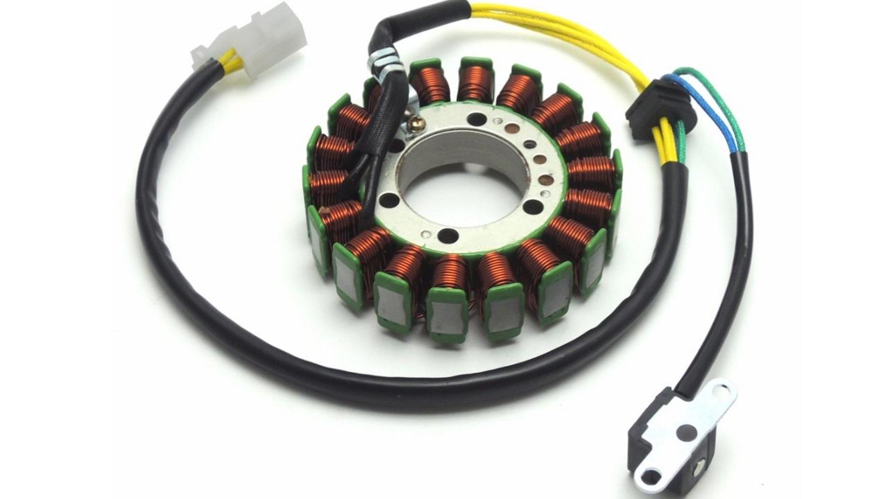 Cómo probar un estator trifasico sin multimetro, sistema de carga y encendido en una moto. Video . 2