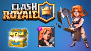 ★CLASH ROYALE | The GIANT Army RARE CARD UNLOCKS & EPIC CHEST OPENINGS (Clash Royale)★