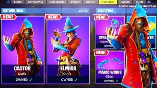 New WIZARD SKINS in Fortnite Battle Royale!