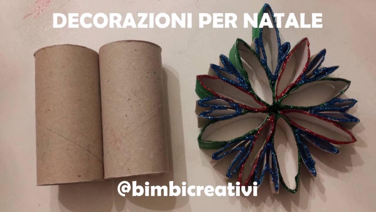 Rotoli Di Carta Igienica Lavoretti Natale : Decorazioni per natale con i rotoli di carta bimbi creativi