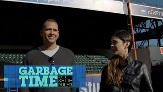 Katie Nolan gets to know her new co-worker Alex Rodriguez