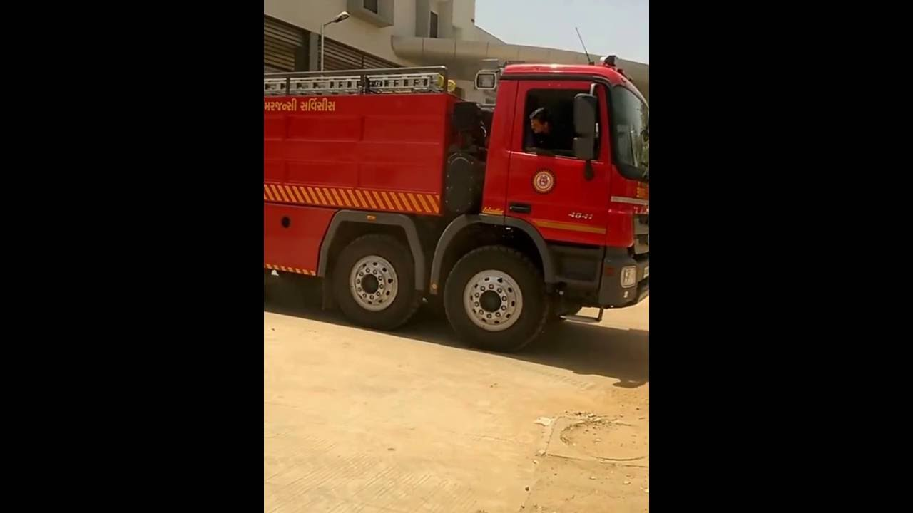 Mercedes benz actros named gajraj by ahmedabad fire for Mercedes benz emergency service
