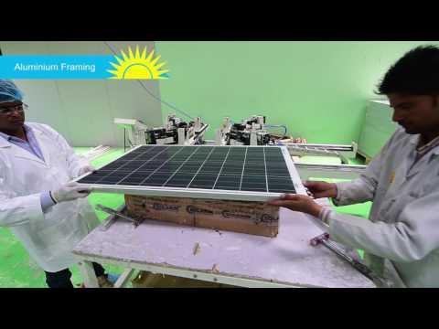 ENKAY SOLAR POWER MANUFACTURING PROCESS VIDEO