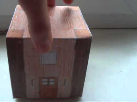Minecraft Из Бумаги - 46 Дом