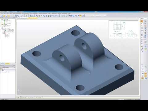 Edgecam Part Modeler - Fra 2D-tegning til 3D-modell