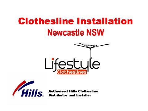 Hills Clothesline Installation Newcastle NSW