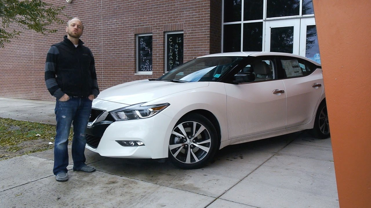 2016 Nissan Maxima S The Is Back Real World Review And Test Drive You