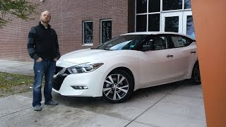 2016 Nissan Maxima S: The Maxima is BACK!   Real World Review and Test Drive