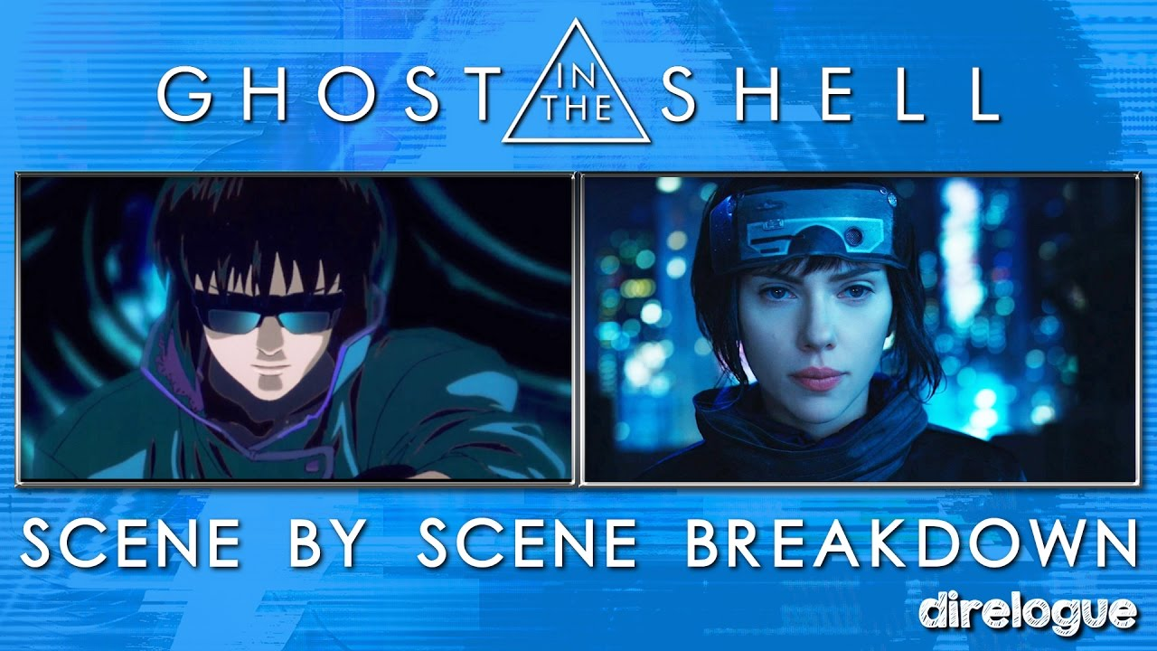 Ghost In The Shell Scene By Scene Comparison Youtube
