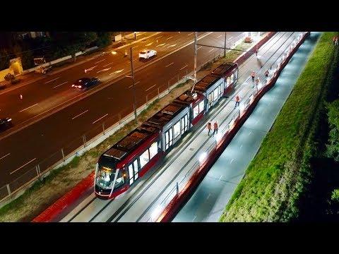 Sydney Trains Vlog 1453: New Sydney Light Rail Citadis X05 Under Test
