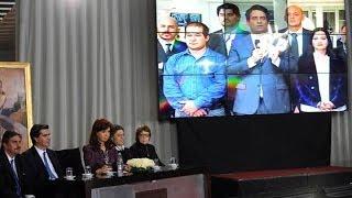 Cristina inauguró la nueva sede de Télam