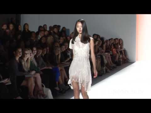 Jenny Packham Spring 2012 | New York Fashion Week