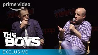 The Boys - NYCC 2018 - Featurette: Eric Kripke on Garth Ennis' Priority For The Show | Prime Video