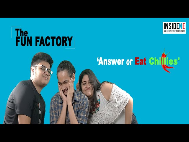 The Fun Factory |  Who can answer the most |  Inside Northeast